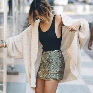 Urban Outfitters Oversized Chunky Sweater Cardigan